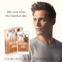 COVER REVEAL: Hotshot Doc by R.S. Grey