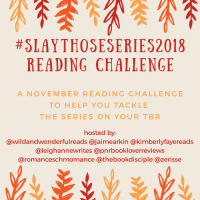TBR:  #SlayThoseSeries2018