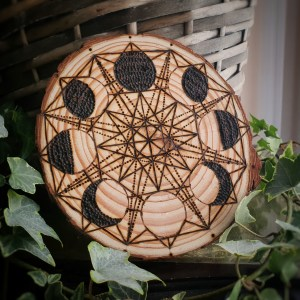 Moon Cycle Crystal Grid