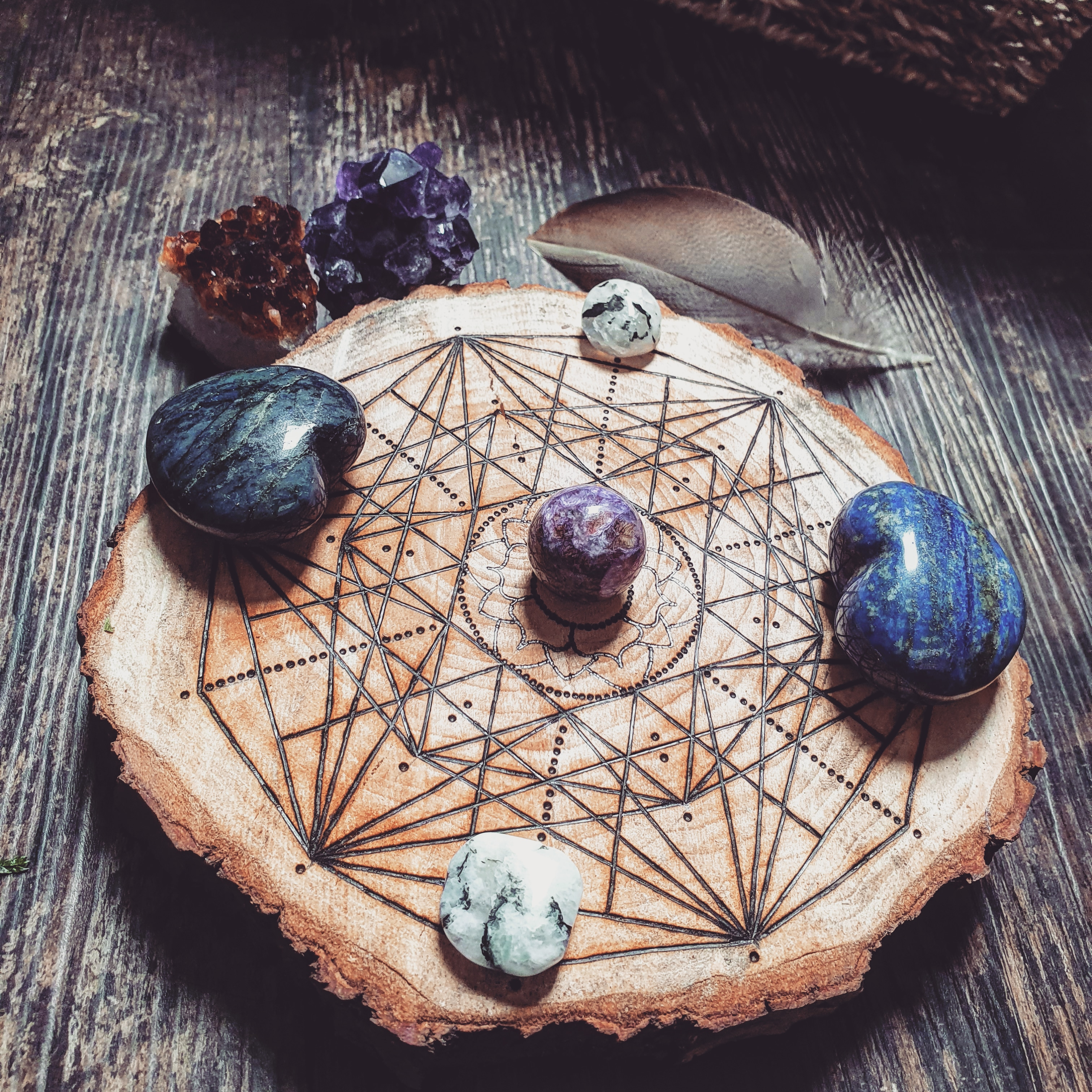 What the fuck is a crystal grid anyway?