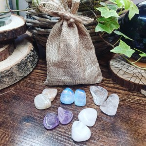 Meditation and Healing crystal set