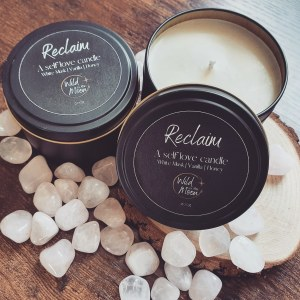 Reclaim: A Self Love candle