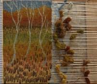 Glen (weaving in process)