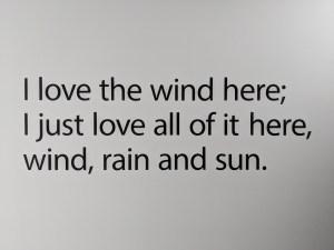 Words at Lews Castle Museum