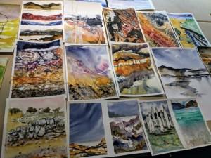 Course participants' artwork