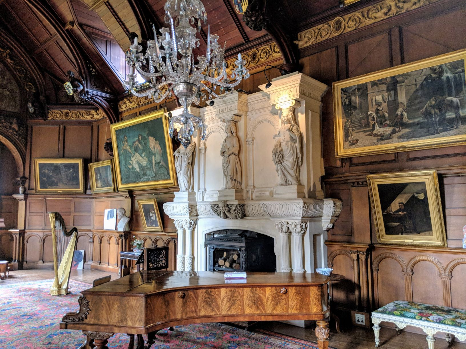 music room at hospitalfield
