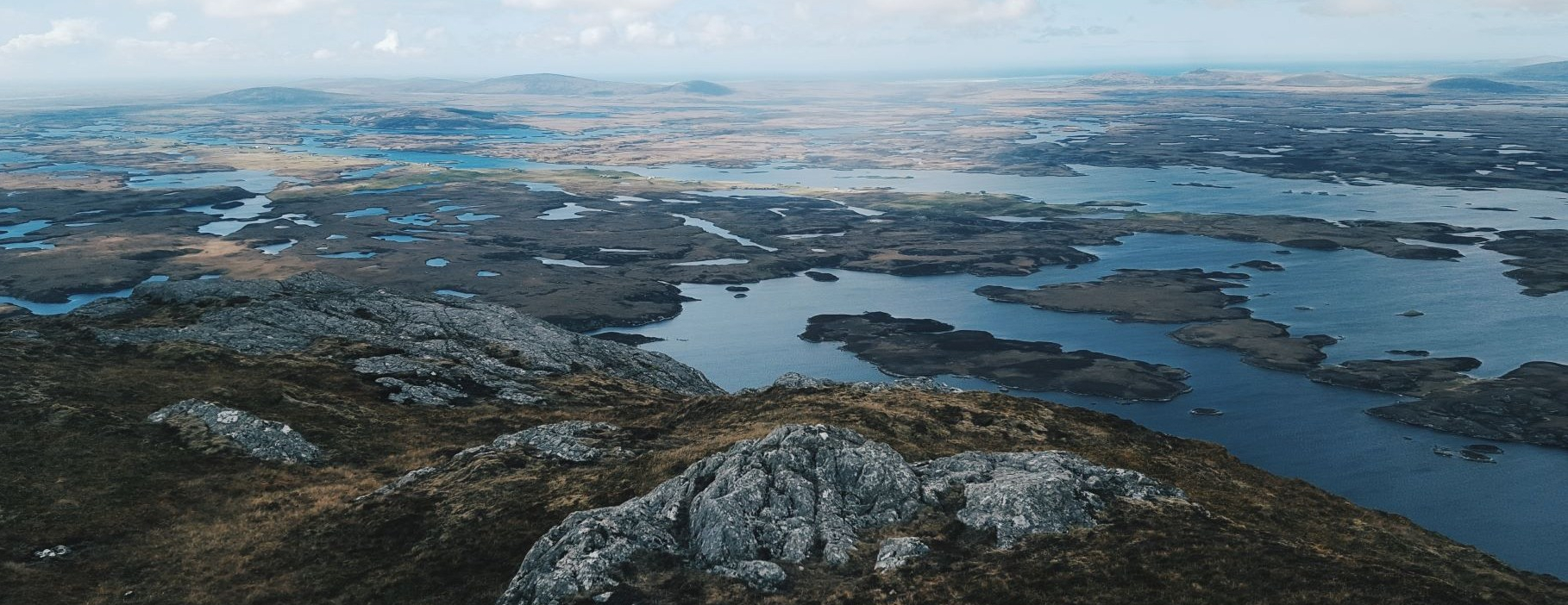 The many lochs of North Uist