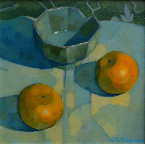 Still life by Scottish painter William Brian Miller