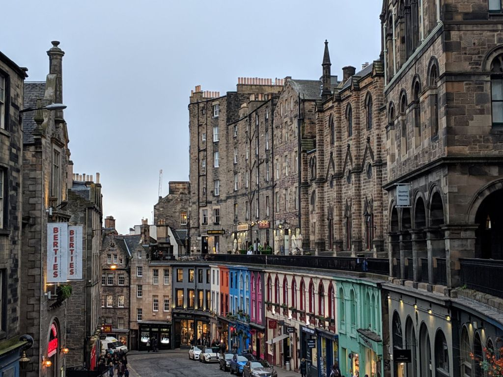 MS Victoria St in Edinburgh