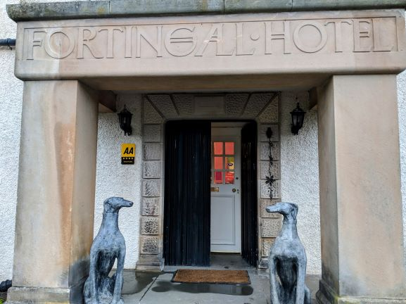 TN Fortingall Hotel entrance
