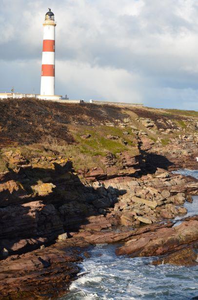 TN Lighthouse near Portmahomack