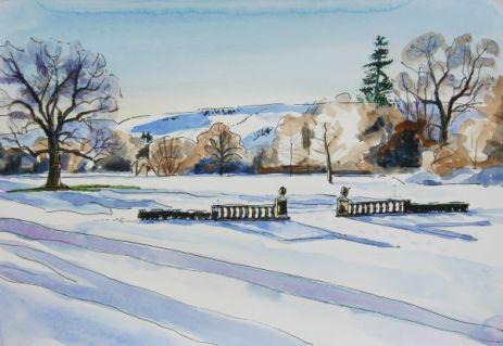 KAC Snow & Hills at Culcreuch Castle 2-1-2