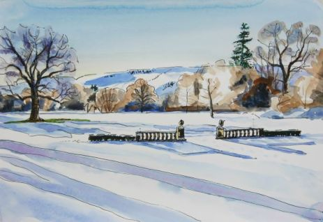 KAC Snow & Hills at Culcreuch Castle 2-1-2