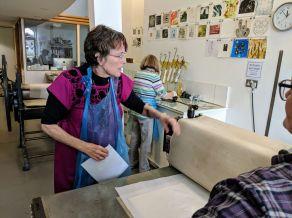 Virginia at Highland Print Studio