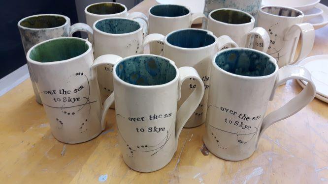 Sea Tree mugs