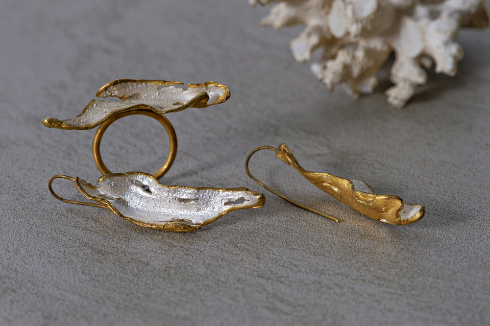 Silver jewellery handmade in Scotland
