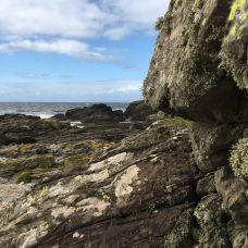 Rugged coast in Kintyre