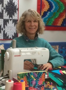 Scottish quilter Clare Workman