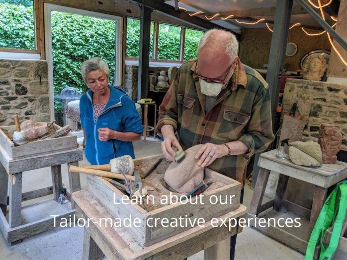 Bespoke art workshop experiences