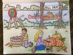 Wild Axe Lumberjack Colouring Book