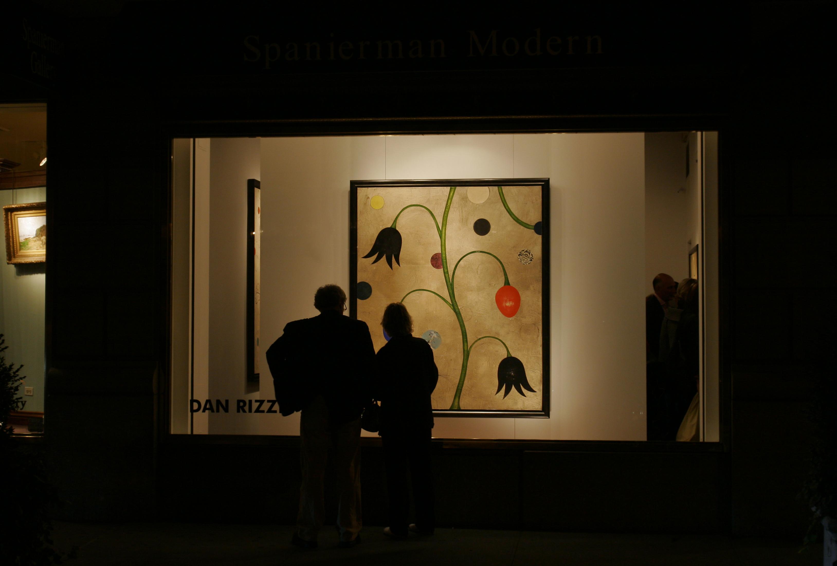 Spanierman Modern Gallery hosting Dan Rizzie art