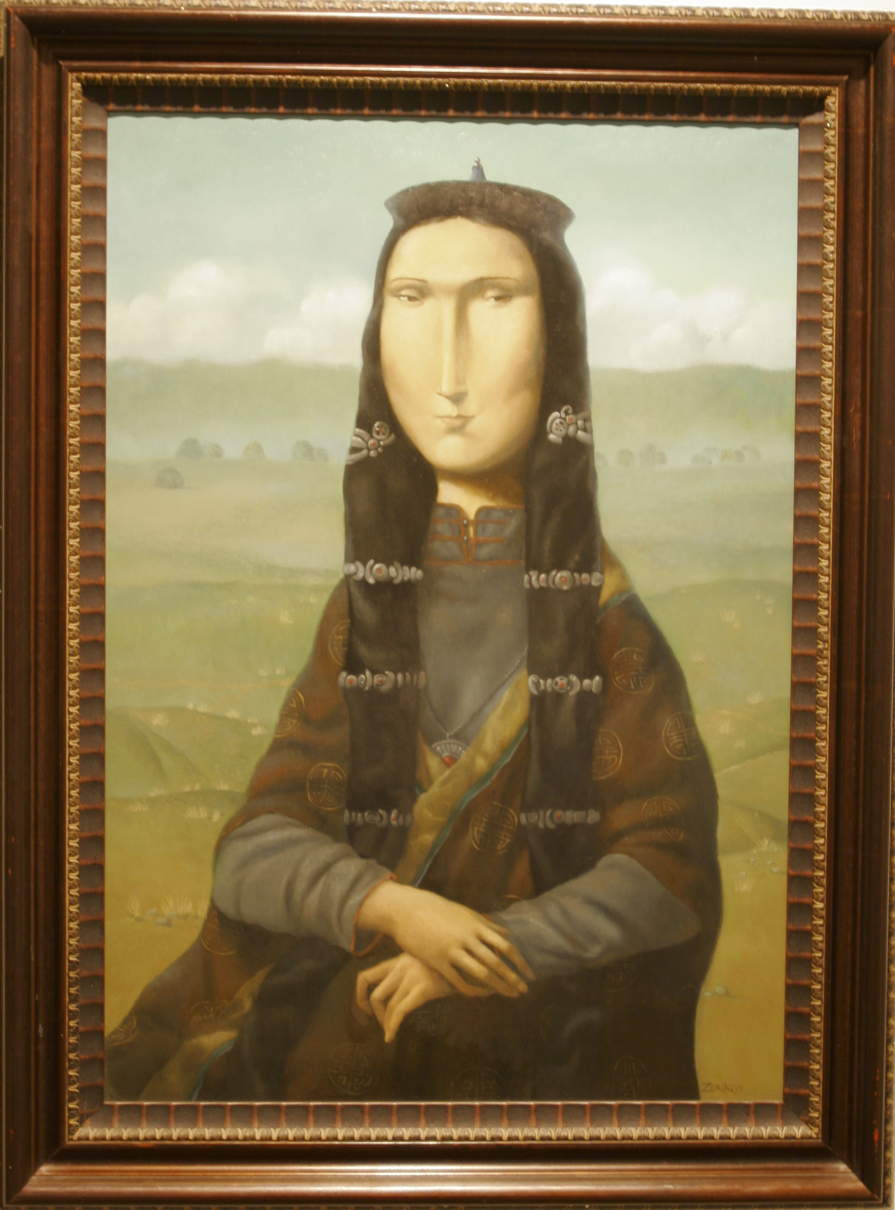 Could this be the new Mona Lisa?