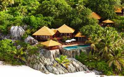 Secret island villas perfect for a secluded getaway