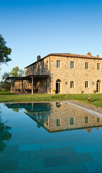 Hotels with helipad Rosewood Castiglion del Bosco Tuscany Italy