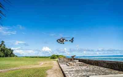 Hotels with helipad landing areas for that Hollywood entrance