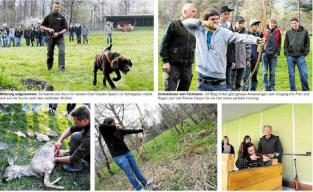Jäger indoktrinieren Kinder in der Schweiz wie Sekten und führen sie an die Gewalt heran.