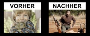 Nicht mit Jägern spielen
