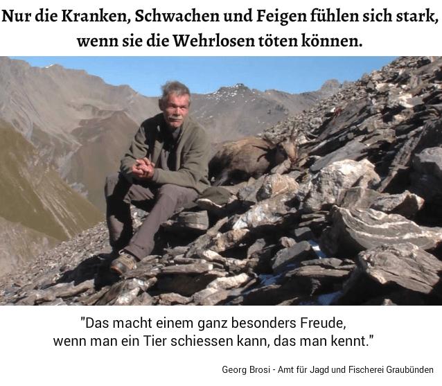 Georg Brosi - Amt für Jagd und Fischerei Graubünden