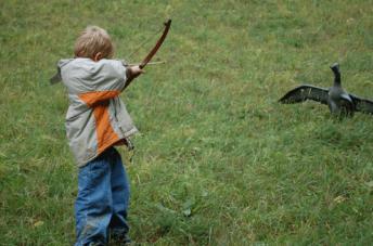 Jäger indoktrinieren Kinder in der Schweiz