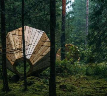 Holz-Megaphon