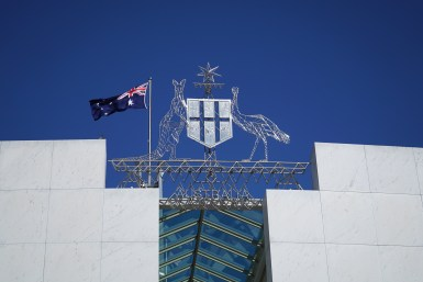 Australian coat of arms -®Hopping Pictures