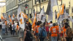 Anti Jagd Demo Florenz 15.9.2018