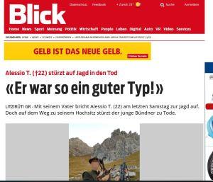 Blick Hobby-Jäger