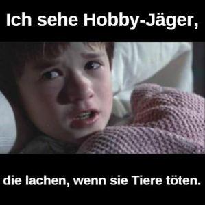 Hobby-Jäger lachen