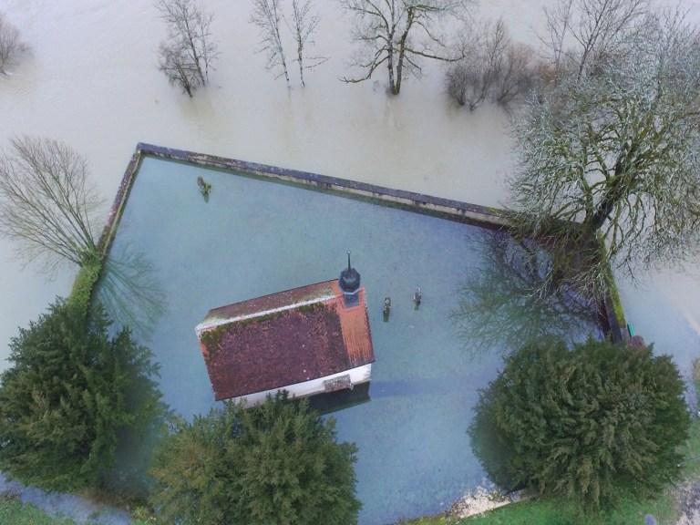Doubs Hochwasser