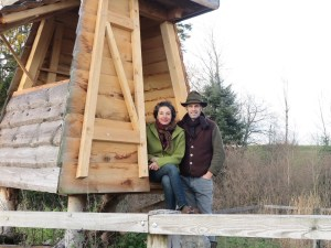 Nils Müller und Claudia Wanger