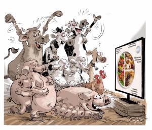 Kanada geht mit gutem Beispiel für die Prävention von Krankheiten voran: Fleisch als wichtige Proteinquelle und die tägliche Portion Milch wurden aus der Ernährungspyramide gestrichen - es wird eine pflanzliche Proteinquelle empfohlen: https://food-guide.canada.ca/en/healthy-eating-recommendations/?fbclid=IwAR01cfYIuG-QFGXxnVzRqJEut8TrEouMYho51fG4GXN9OqzcMs-zFURdC20