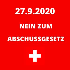 Jagdgesetz Nein 27.9.2020