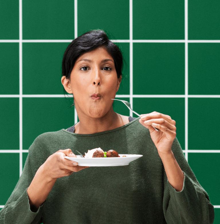 IKEA präsentiert die vegane Version des Köttbullar