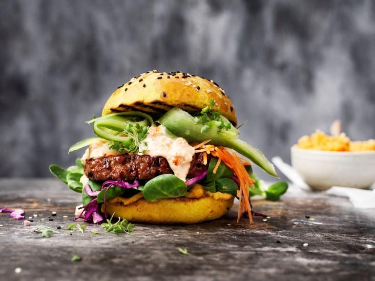 Vegane Burger startet mit sensationeller neuer Rezeptur durch