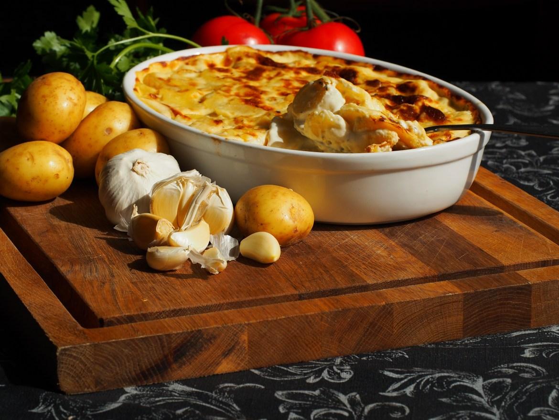 Gratin-Kartoffeln