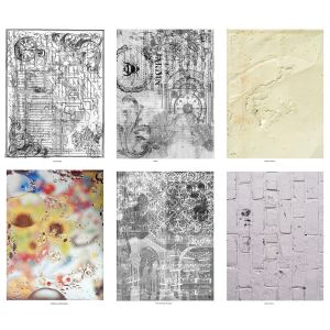 Bold Textures Mixed Media Paper Stash