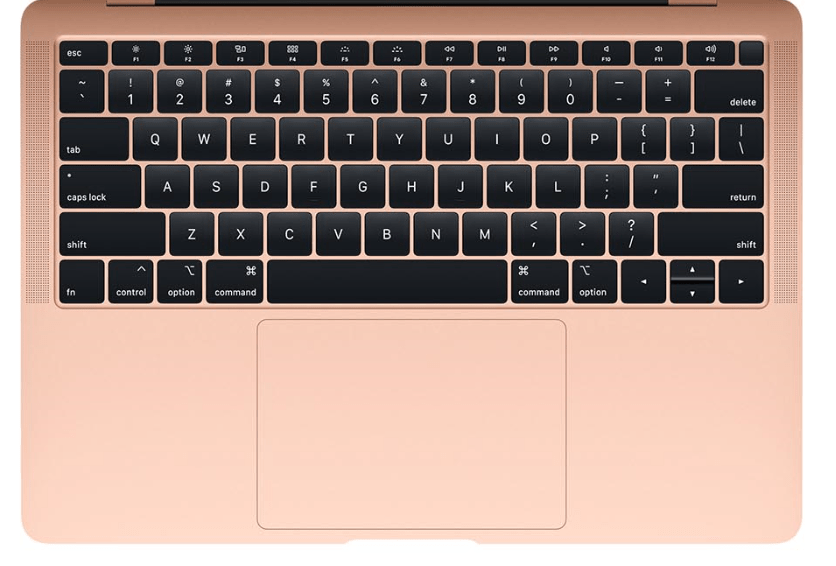 apple macbook air review of the stylish keyboard layout