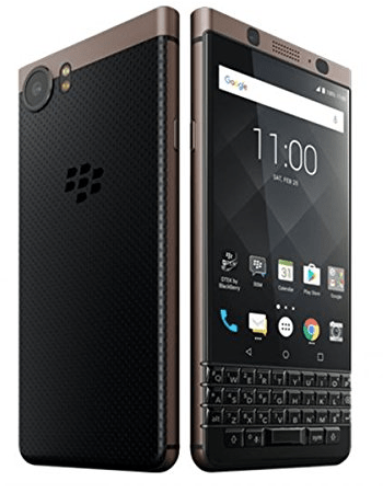 Smartphones with the best battery life, brown blackberry key one