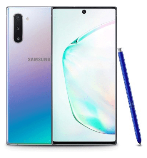 Samsung Galaxy Note 10 Plus, phones with the best battery life