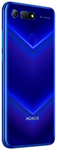 Back View, Honor View 20 (V20), Top-rated for Gaming, latest Huawei smartphones